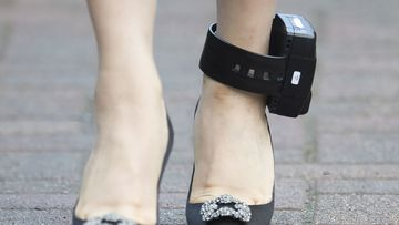 Ankle monitors are used to track criminals and sometimes criminal suspects on bail.