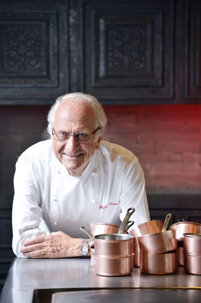 Michel Roux at Four Seasons Hotel, Central.
