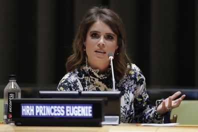 Princess Eugenie end modern slavery