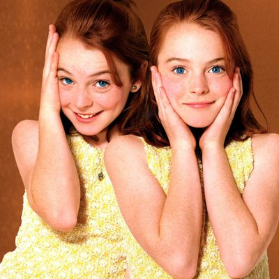 Lindsay Lohan as Annie James/Hallie Parker: Then