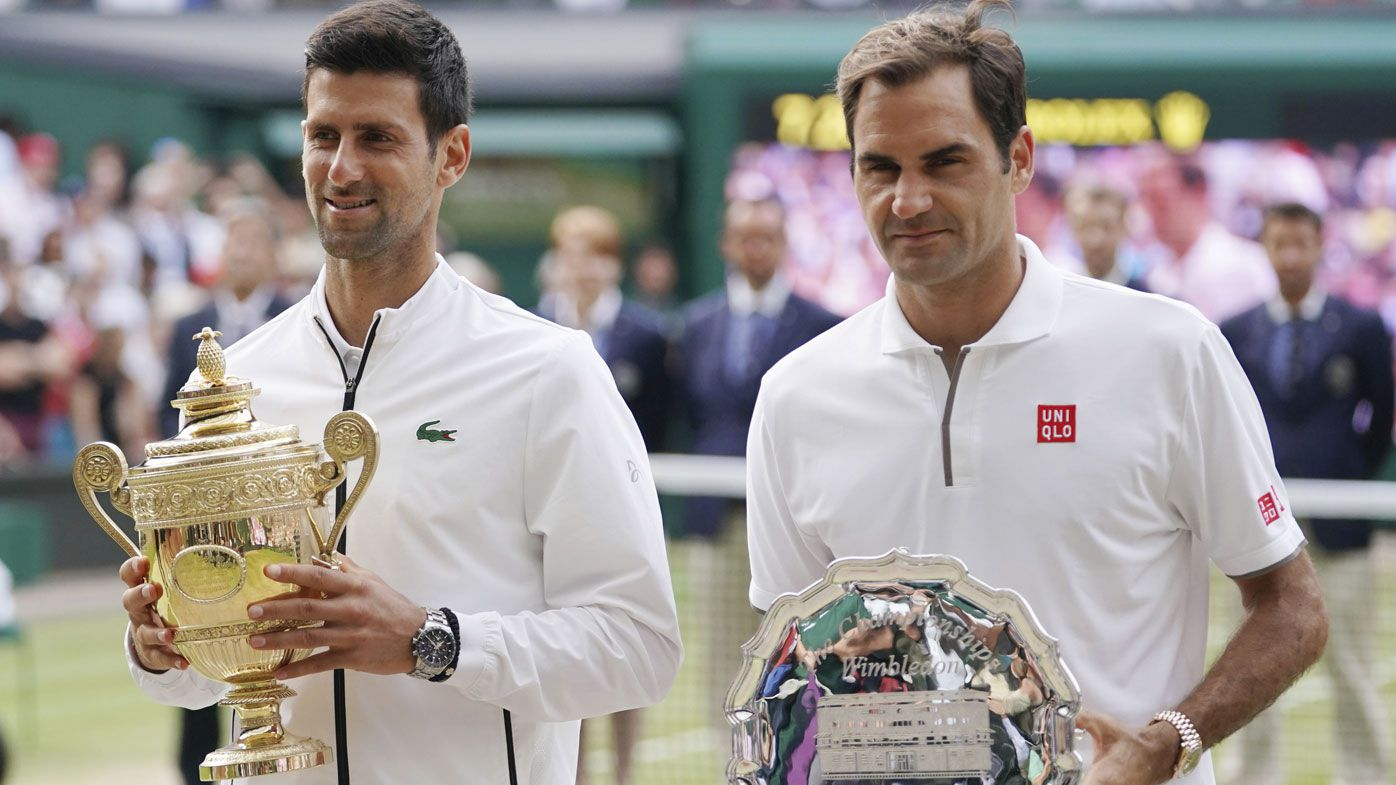 Roger Federer stoic after gut-wrenching loss in Wimbledon final to Novak Djokovic