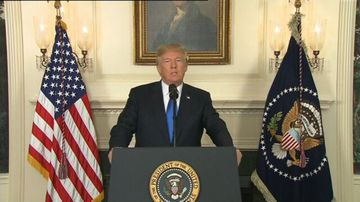 Donald Trump's full speech on Iran nuclear deal