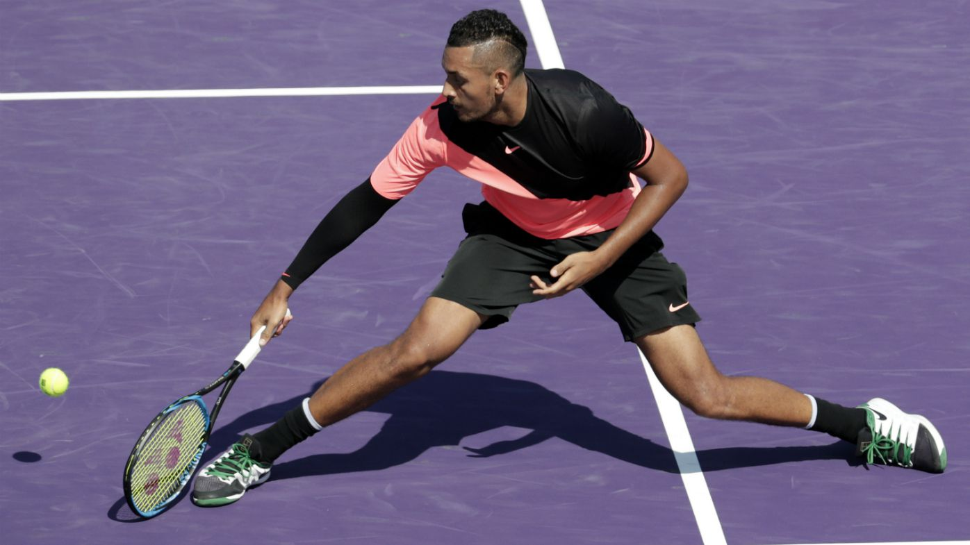 Nick Kyrgios in fitness battle ahead of French Open