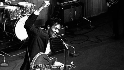 Chuck Berry in 1964. (AFP)