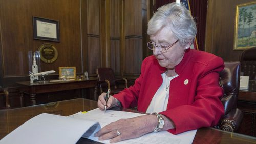 Alabama's Governor Kay Ivey approved of the execution.