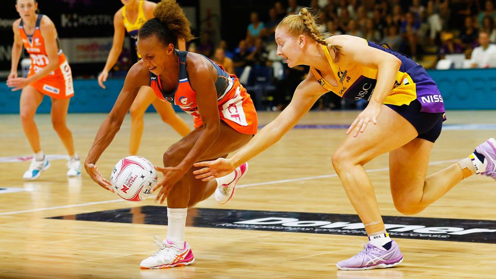 Giants edge the Lightning in Super Netball