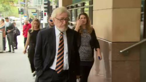 Mr Richter outside court today. (9NEWS)