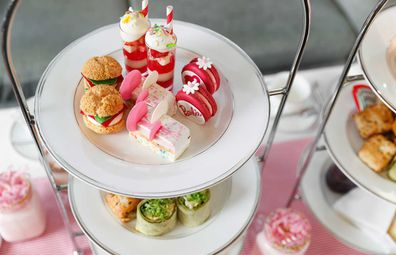 Shangri-La Sydney Anna Polyviou's Barbie themed high tea