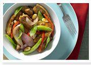 Chicken & chilli jam stir-fry