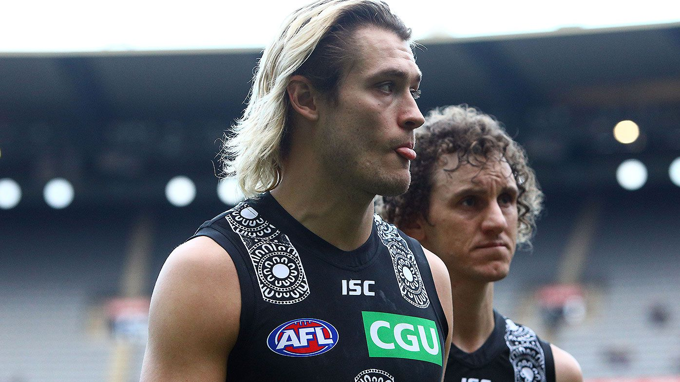 Darcy Moore 'nowhere near' finalising new Collingwood deal amid fresh Richmond links
