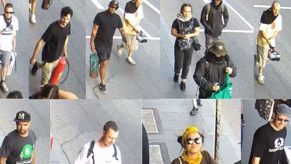 Police reveal new images to solve vandalism attack on famous laneway