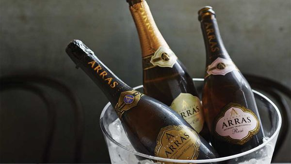 House of Aras sparkling wines. Image: houseofarras.com.au