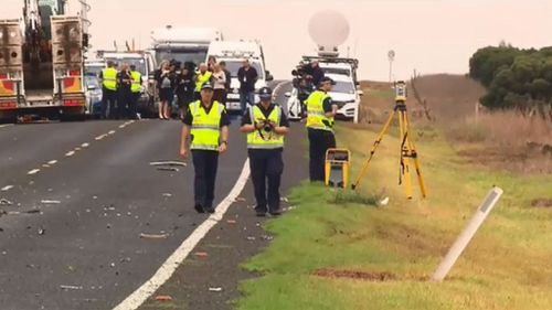 A police investigation will determine the events leading up to the crash. (9NEWS)