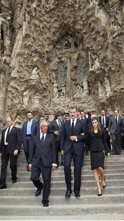 <p>Cardinal Joan Josep Omella called for Spain to unite to work for a more peaceful world following the van crash. </p> <p>He said the presence of so many people was a 'beautiful mosaic' of unity to work for a common objective of 'peace, respect, fraternal coexistence and love'.</p>