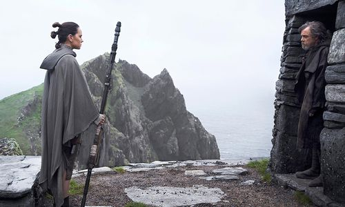 Daisy Ridley stars as Rey in the follow up to The Force Awakens.
