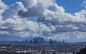 Los Angeles air 'cleanest in world' since COVID-19