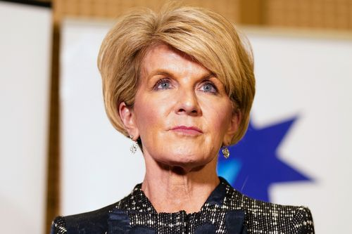 """Foreign Minister Julie Bishop says she was """"cautiously optimistic"""" about yesterday's historic summit. Picture: AAP"""