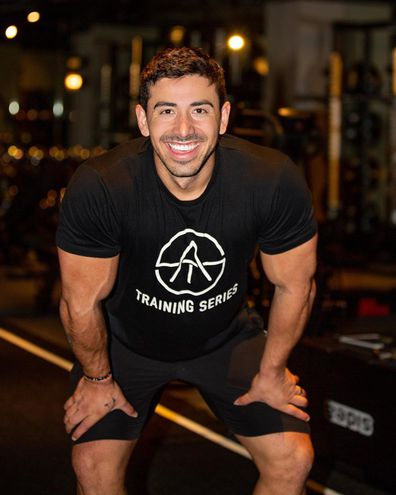Personal trainer Jono Castano