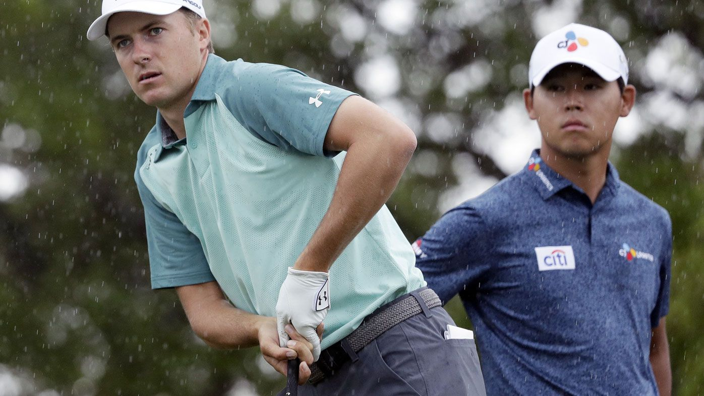 Aussies off pace in PGA Texas, losing touch with Masters berth as Kim leads