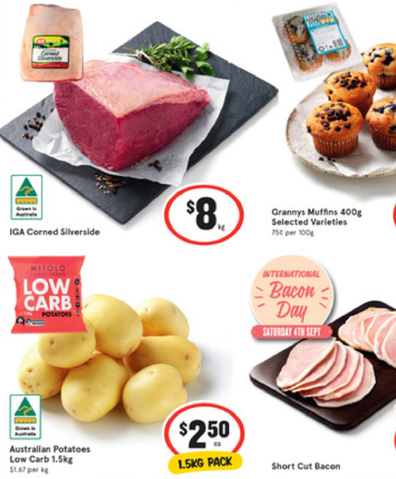IGA has pull together some great dinner choices this week.