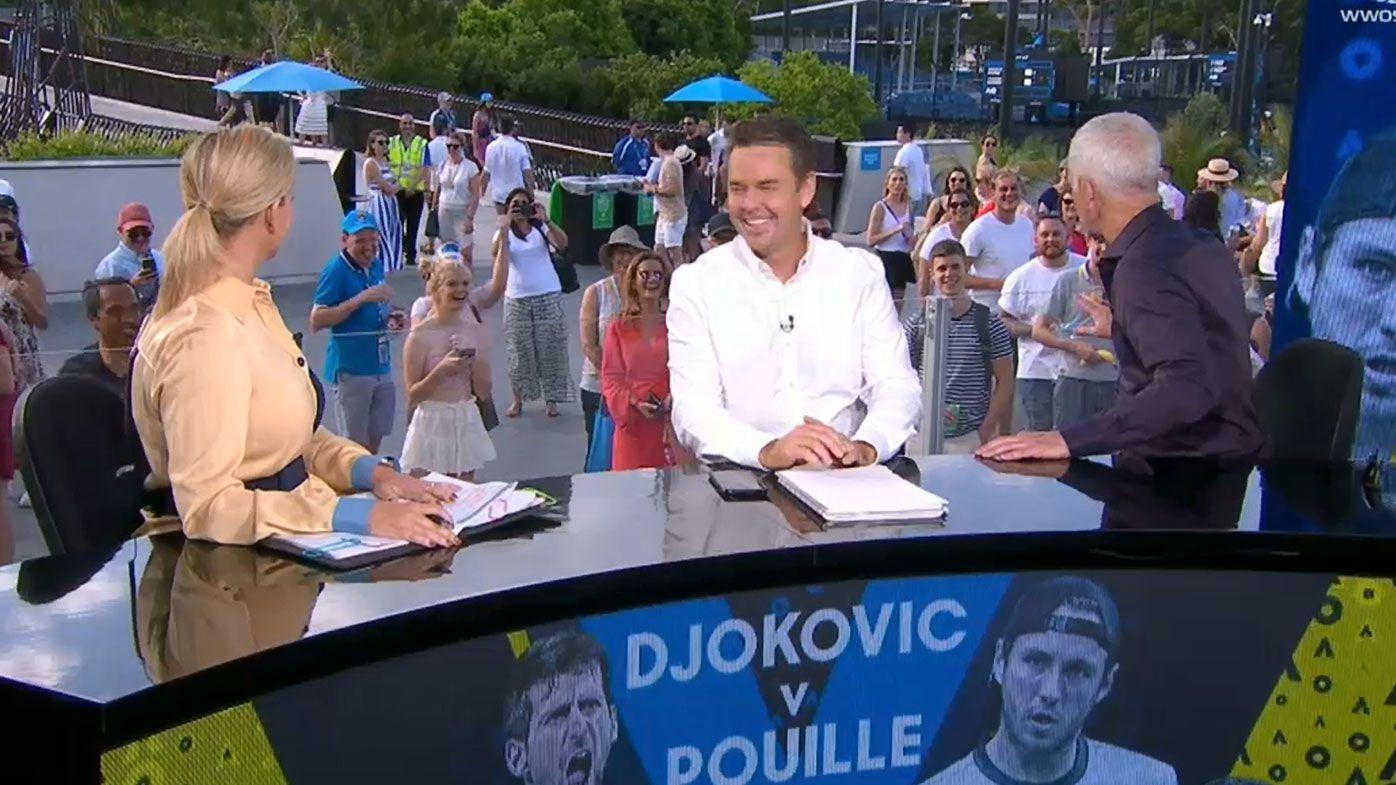 John McEnroe savages loudmouth Australian Open fan