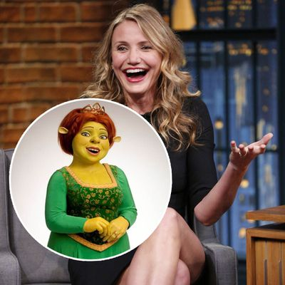 Cameron Diaz as Fiona in Shrek