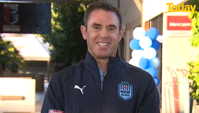 Fittler was beaming after the Blues' Origin win.