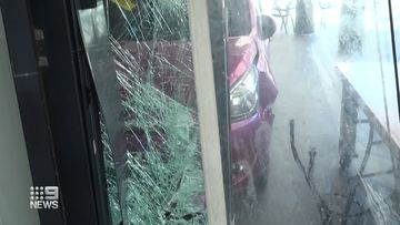 Car smashes into Starbucks on Gold Coast