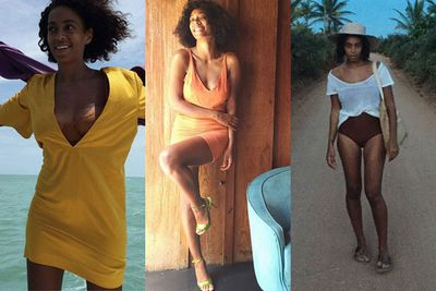 """Look out, Beyonce: your newly married sister Solange just shot straight to the top of our list of effortlessly cool celebs. We'd even go as far as to say she's flawless...<br/><br/>The 28-year-old has won us over with snaps from her Brazilian honeymoon with music producer hubby Alan Ferguson. The pair, who wed in New Orleans on November 16, didn't need fancy champagne or overwater bungalows to make their honeymoon super-cool. Instead, they took the rustic route and spent eight days in the small coastal town of Trancoso, Brazil.<br/><br/>Take note: This is how you do a honeymoon.<br/><br/>Images: Instagram/Solange Knowles. Author: Adam Bub. <b><a target=""""_blank"""" href=""""http://twitter.com/TheAdamBub"""">Follow on Twitter</a></b>. Approved by Amy Nelmes."""