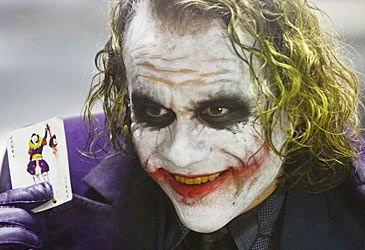 Daily Quiz: In 2009, Heath Ledger was named the winner of which Oscar?
