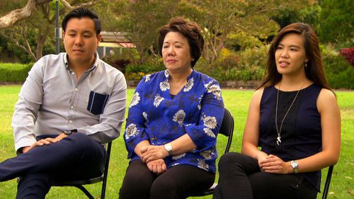 The Cheng family are holding together during the healing process. (A Current Affair)