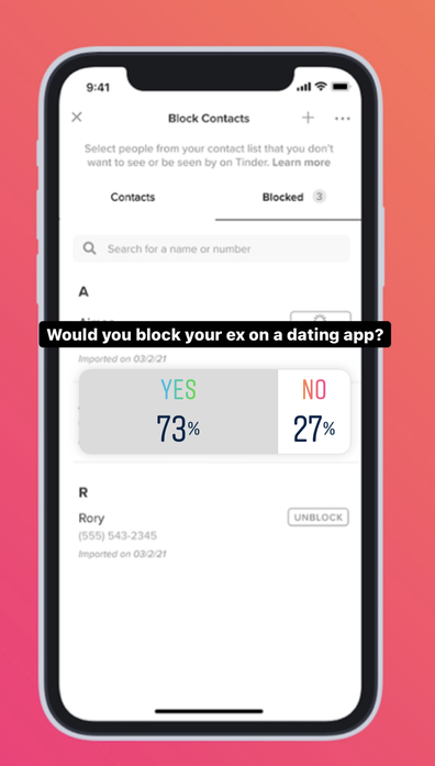 Tinder now lets you block your ex, and people are getting far more creative than intended