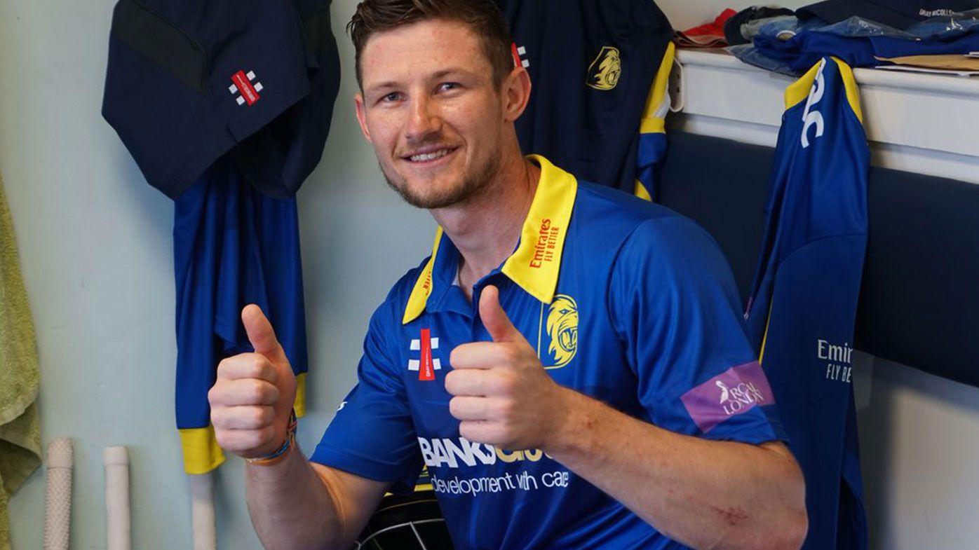 Australian batsman Cameron Bancroft scores second consecutive century for Durham
