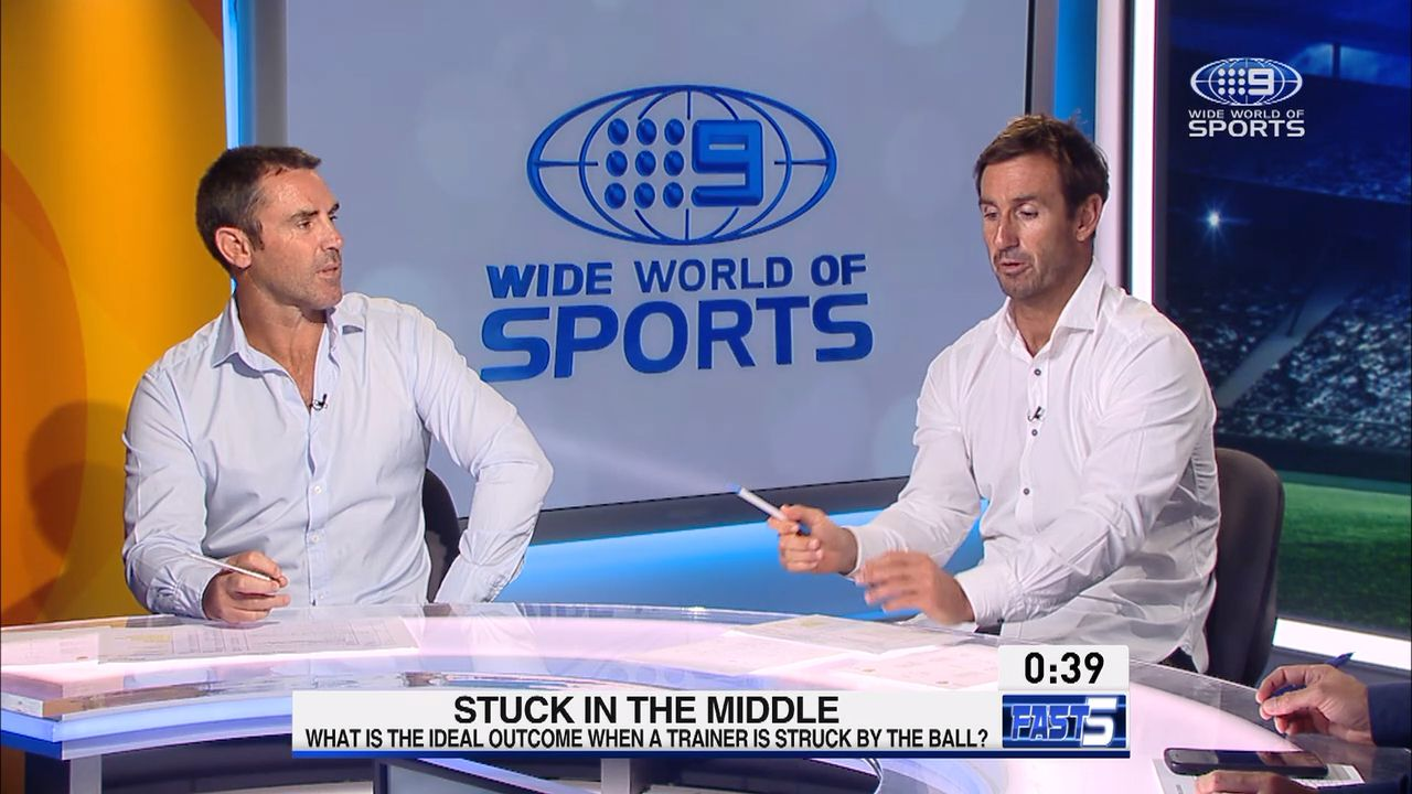 Andrew Johns predicts shorter NRL careers due to 'rubbish' wrestling moves