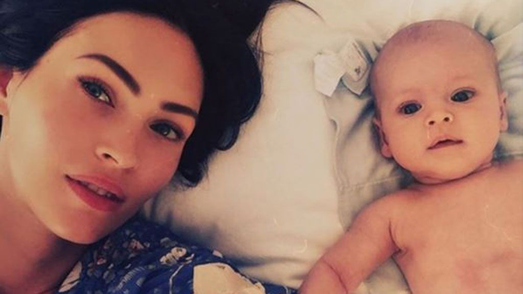 Megan Fox and baby Journey River. That name took some imagination. Image: Instagram/@the_native_tiger