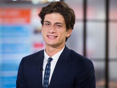 Jack Schlossberg, John F Kennedy's only grandson.