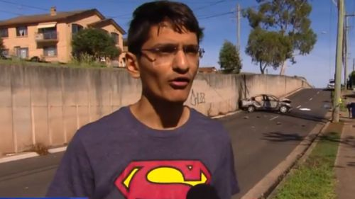 Mr Patel was among the brave witnesses who raced to help the injured. (9NEWS)