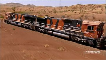 Out-of-control BHP train was travelling at 150km/h
