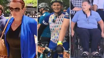 Mum-of-four's moment of distraction leaves cyclist paralysed