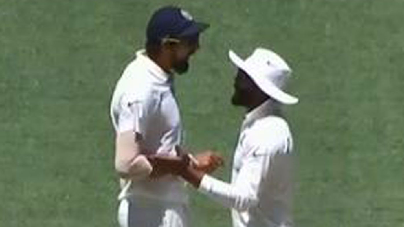 India stars Ishant Sharma and Ravi Jadeja unload in nasty on-field stoush