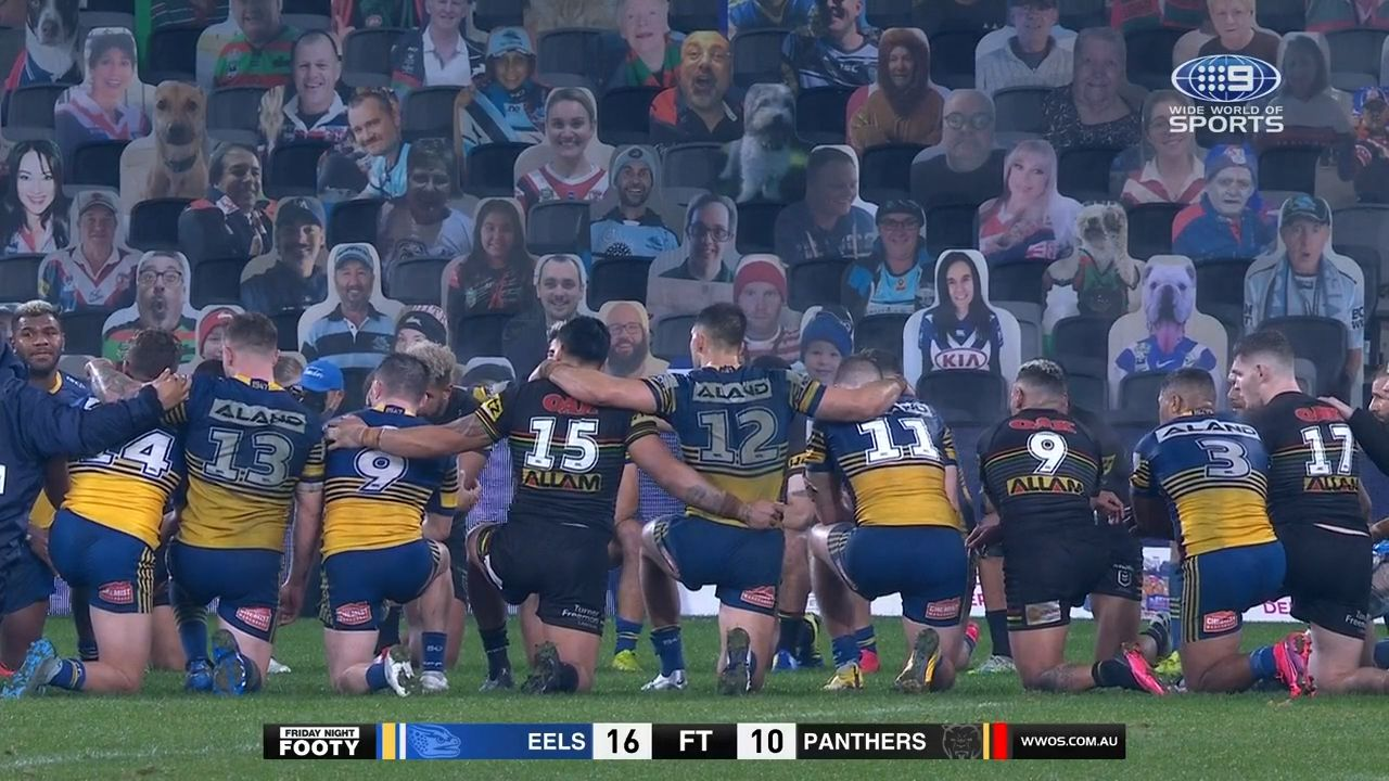 'Feel free to unfollow': NRL, AFL teams staunchly defend players' right to protest against angry fans