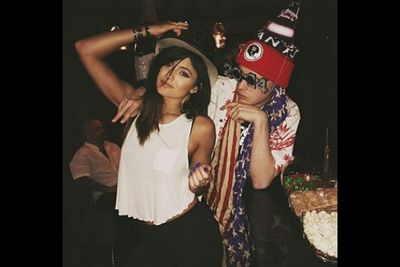 """@kyliejenner: """"Happy New Year :-)"""""""