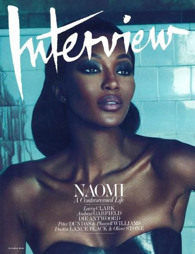 Naomi Campbell, <em>Interview </em>Magazine October 2010