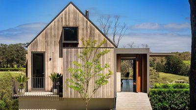 Simple Barn Style Facade Hides 6m
