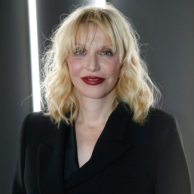 Courtney Love attends the YSL Beauty Party during Paris Fashion Week Menswear Fall/Winter 2018-2019 on January 17, 2018 in Paris, France.