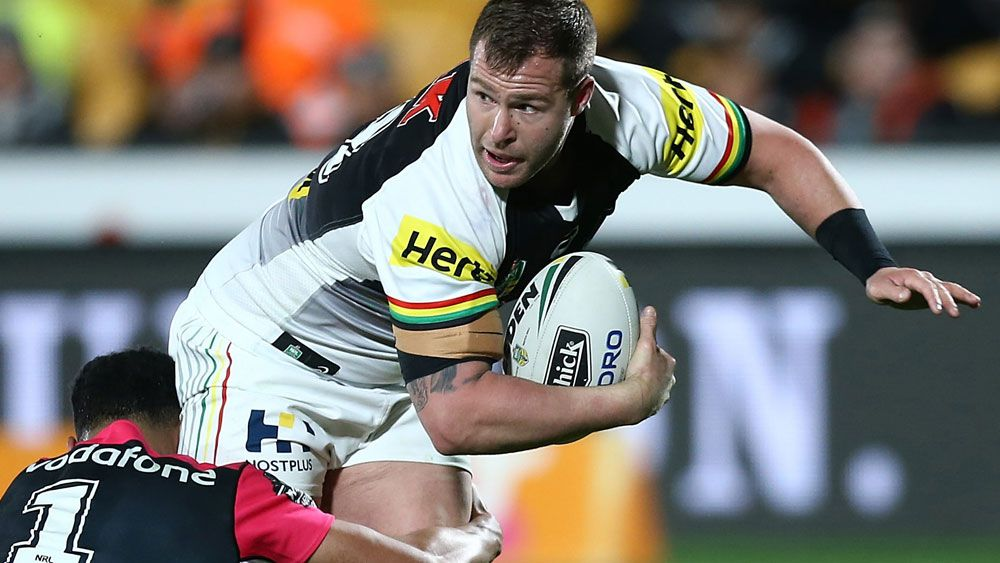 NRL: Penrith Panthers star Trent Merrin out for up to eight weeks