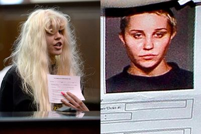 Amanda was arrested in May 2013 for allegedly throwing a bong outside of her Manhattan apartment window. The star denied charges of marijuana possession, reckless endangerment and attempted tampering with evidence, claiming that the police officer who arrested her 'lied' and 'slapped my vagina. Sexual harassment'.