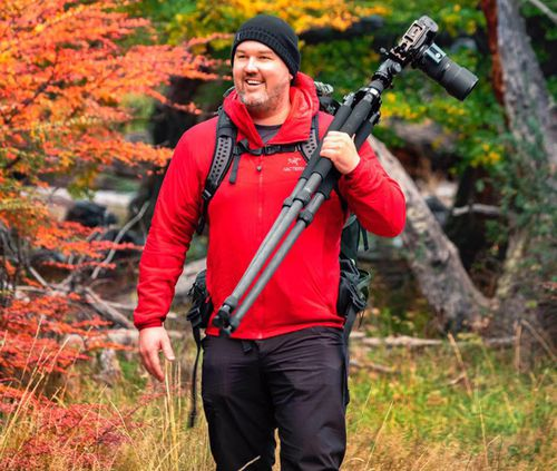 Landscape photographer Dale Sharpe killed in tragic accident