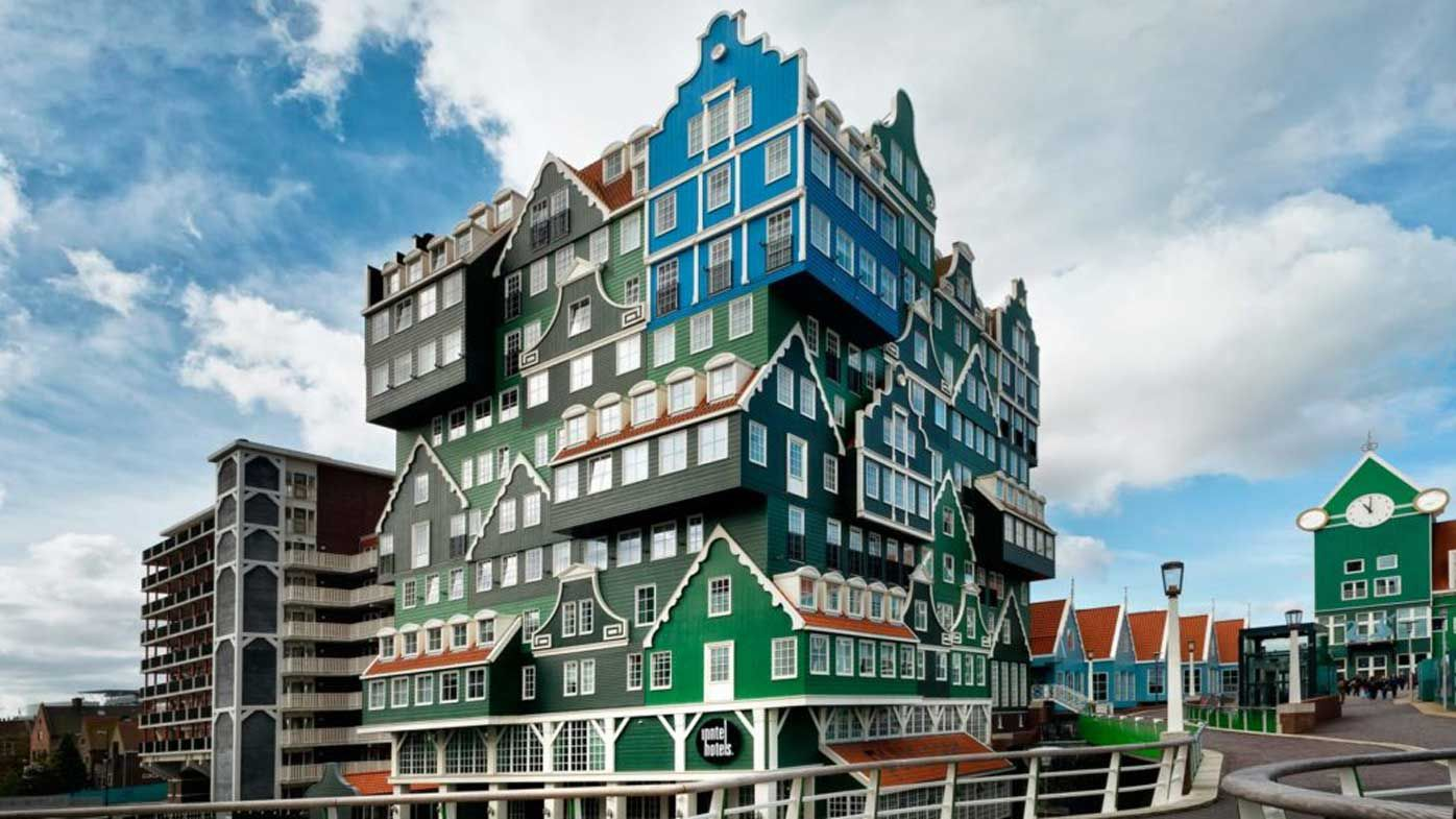 Weirdest Amsterdam accommodation