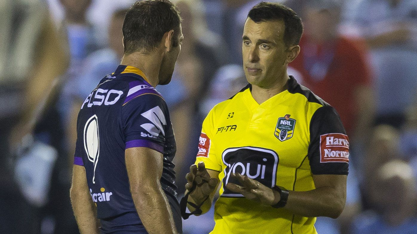 NRL battle with refs edges to resolution